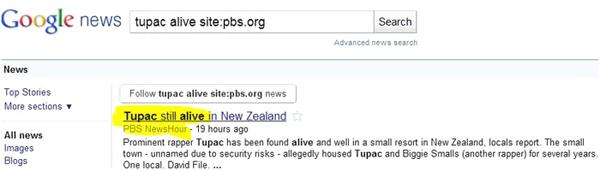 google news pbs hacked