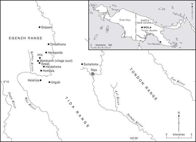 wola region map