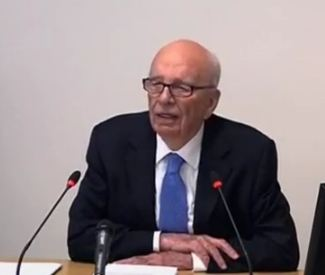 Rupert Murdoch at Leveson Inquiry: Apologies for Hacking Scandal