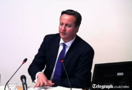 UK Prime Minister Testifies at Leveson Inquiry