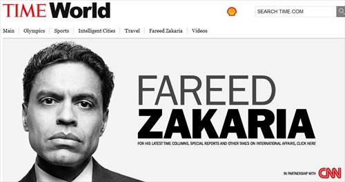 Fareed Zakaria's Suspensions over at Time, CNN