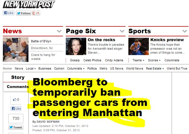 More Sandy Errors: NYPost Unpublishes Anonymously-Sourced Sandy Story, NYT Corrects Live Blog on New Jersey Rules for Getting Gas
