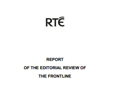 RTE Releases Report into Presidential Debate Standards, Irish Broadcasting Authority Calls for Full Report's Publication