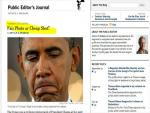New York Times Public Editor: Readers Complained about Obama Photo on A1; Thoughts?