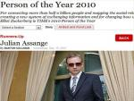 TIME Person of the Year: TIME Readers Pick Julian Assange, TIME Vetoes and Picks Mark Zuckerberg