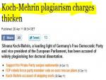 Second German politician quits after being accused of plagiarizing doctoral thesis