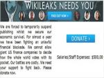 WikiLeaks says it Needs Money or else it will Shut Down