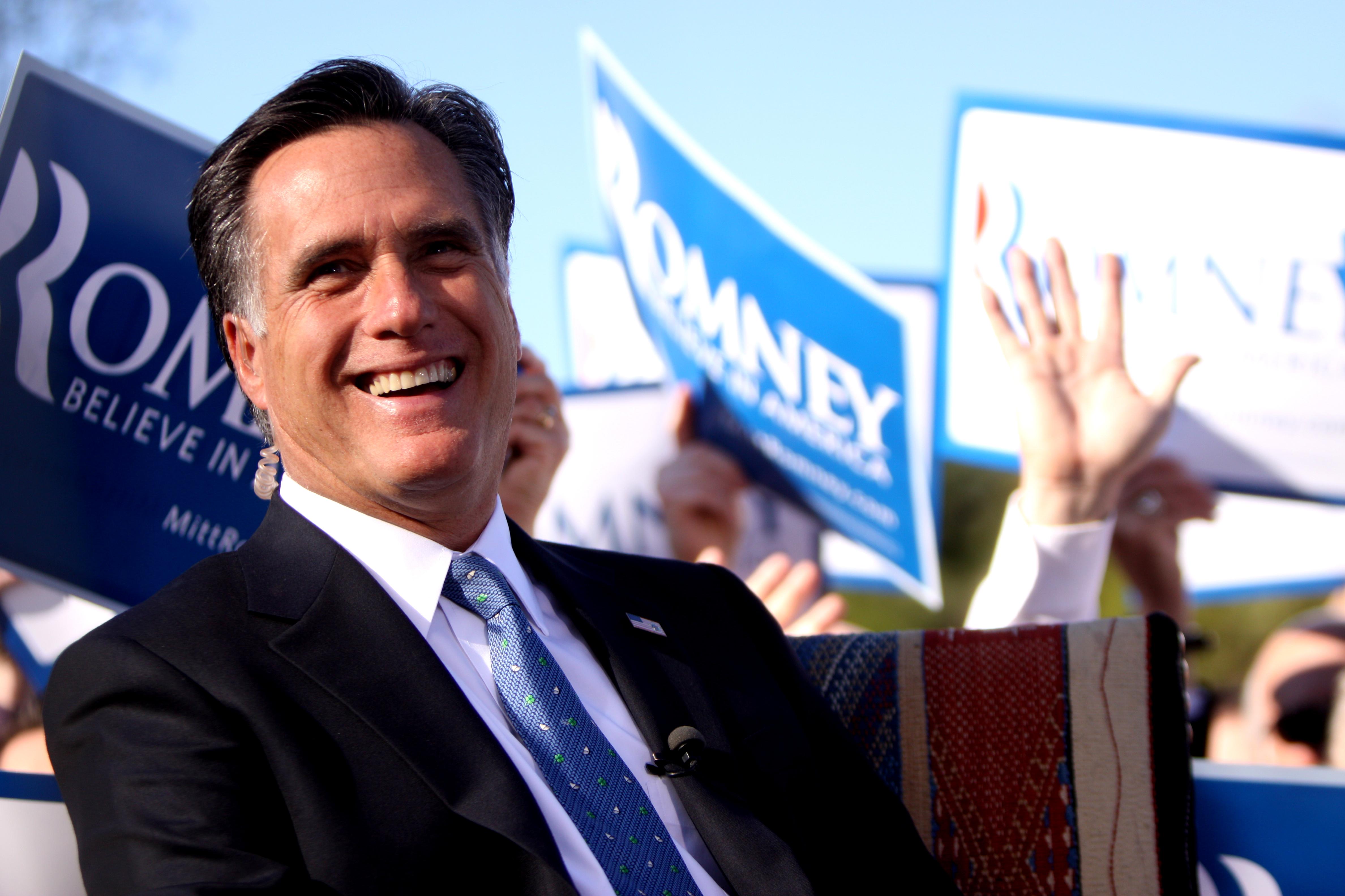 Mitt Romney (Credit: Wikipedia/Gage Skidmore)