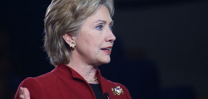 Hillary Clinton in 2007 (Credit: Wikipedia)