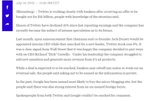 twitter $31 billion