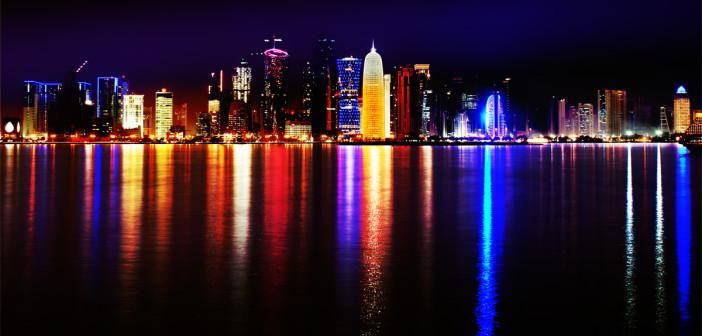 Doha, Qatar, skyline, world cup