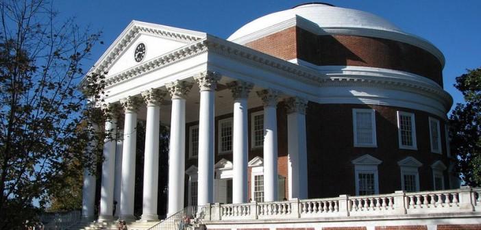 The Rotunda at UVA (Credit: Wikipedia)