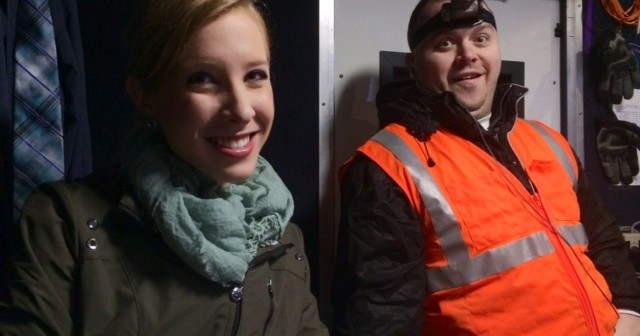 Alison Parker and Adam Ward (Credit: WDBJ)