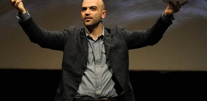 International Roberto Saviano at the Journalism Festival, Perugia, Italia in 2011.   (Credit: Giancarlo Belfiore via Wikipedia)