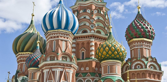 St Basil's Cathedral in Moscow, Russia, 2007. (Credit: Jack Versloot via Flickr)