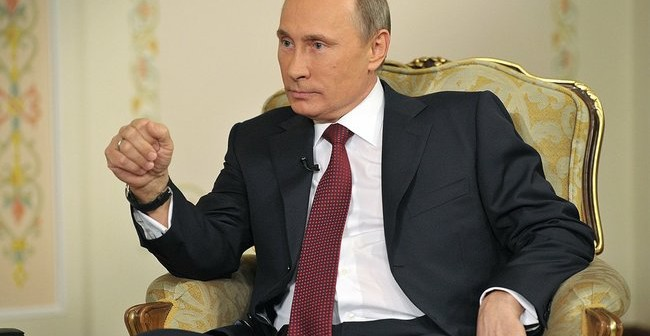 Vladimir Putin in 2013 (Credit: Wikipedia)