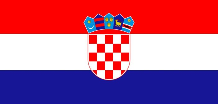 Croatia's flag (Credit: Wikipedia)