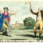 (Credit: illustration based on antique print called The Royal Duel)