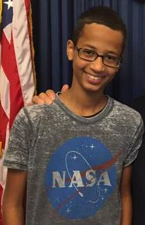 Ahmed Mohamed in 2015 (Credit: Wikipedia)