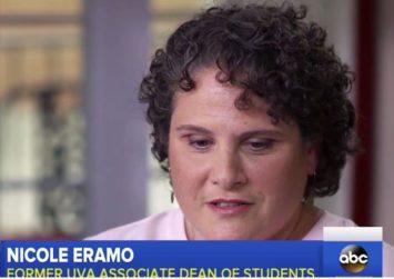 Nicole Eramo being interviewed by ABC News (ABC News/ screenshot)