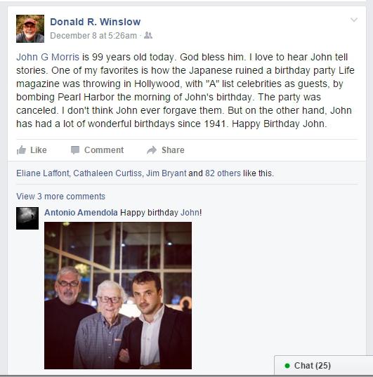 Capa - Winslow birthday greetings to John Morris 12-8-15