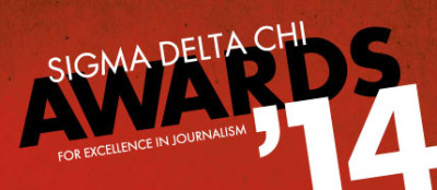 The Capa D-Day investigation the author led and published earned a research award from the Society of Professional Journalists' Sigma Delta Chi Awards. (Credit: SPJ, screenshot)