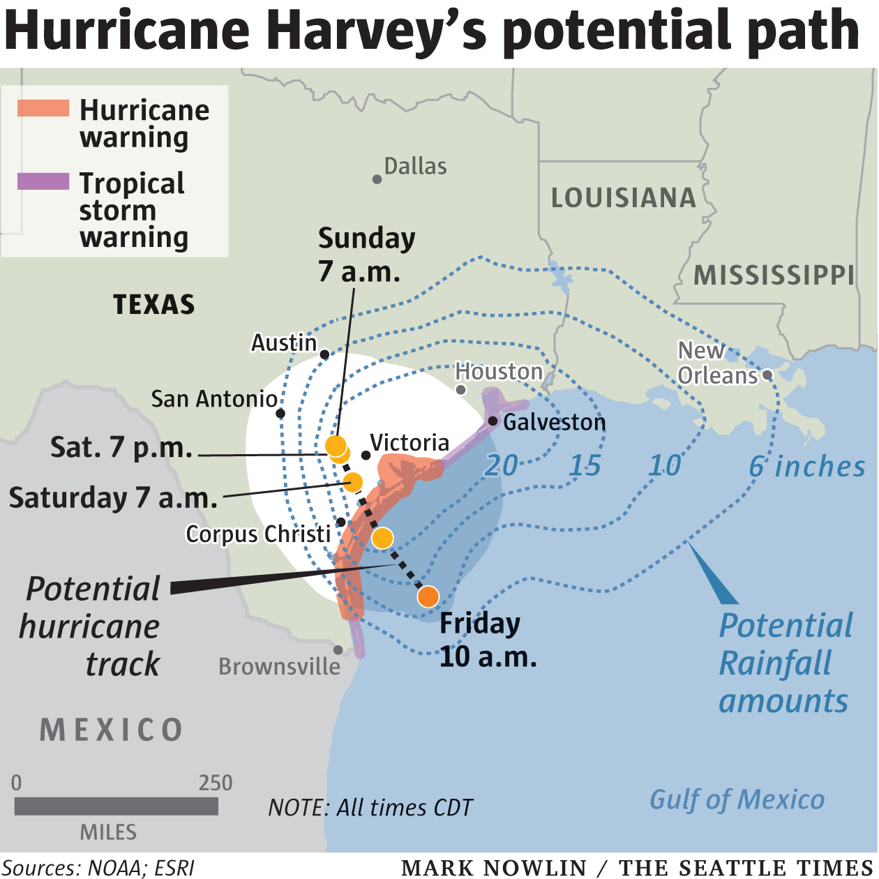 Hurricane Harvey Map Fail: Seattle Times Confused ...