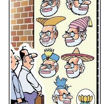 Bangalore Mirror cartoon showed Modi in 'derogatory fashion'