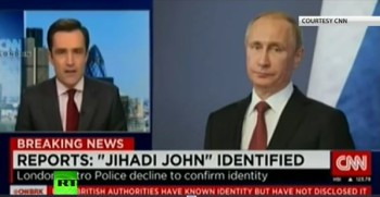 CNN depicted Russia's Putin as ISIS's Jihadi John? Apologizes for