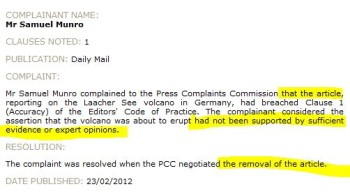 press complaints commission code of practice