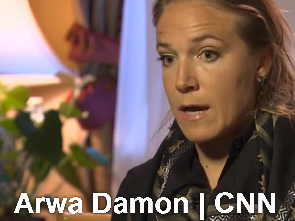 Image result for Award Winning CNN Arwa Damon in Iraq
