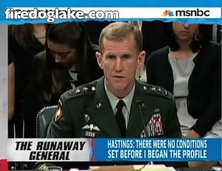 McChrystal apology