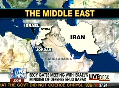 Fox News Map FAIL? Did Fox Confuse Iraq with Egypt When ...