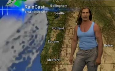 Why did Portland CBS News have Fabio Read the Weather, Name